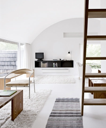 Beautiful, modern Scandinavian Interior Design architecture norway white minimalistic timber elegant tones grey textures furniture