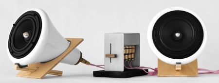 sound speaker wood sound ceramic wood speakers joey roth sounds like installation collection artist design