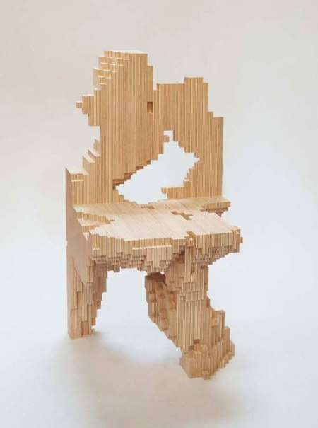 modern innovative chair design stool materials architecture crazy funky stuhl creative arts artist