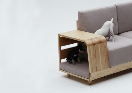 dog house sofa pet puppy interior design animal furniture style home living architecture cool funky modern pet furniture design