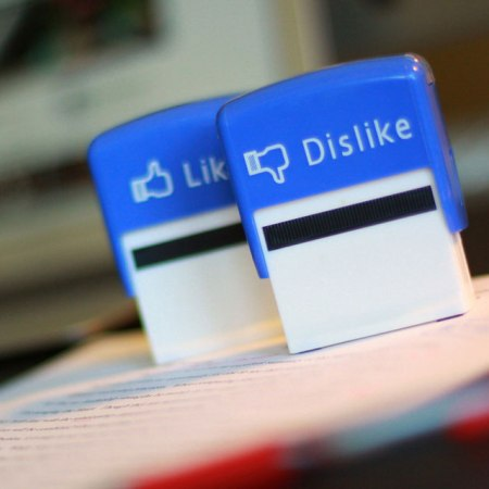 facebook like button stamp design