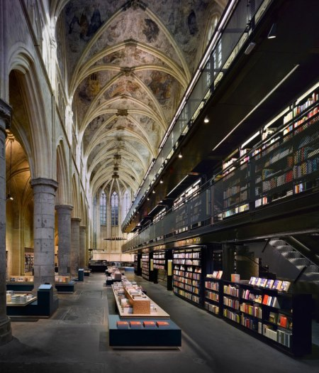 library in church architecture modern design  converstion rebuilding renovation architecture project interior design architectural photography