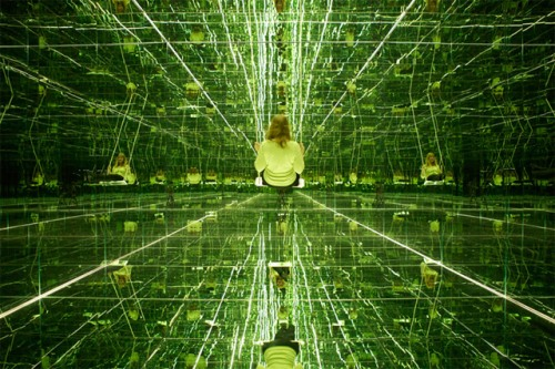 mirrored room infinite reflections art installation german artist thilo frank photography swing matrix movie super cool art