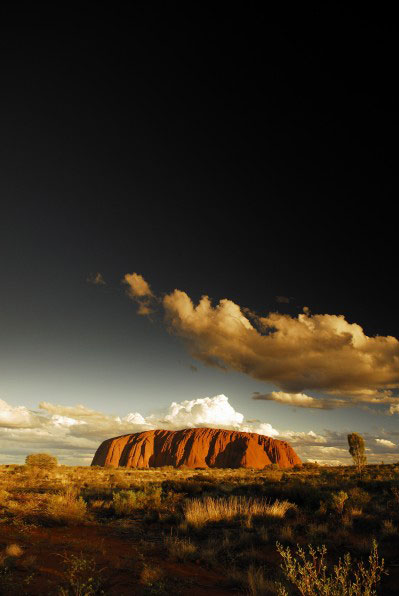 uluru ayers rock australia outback downunder nature landscape mountain photography photo sunset