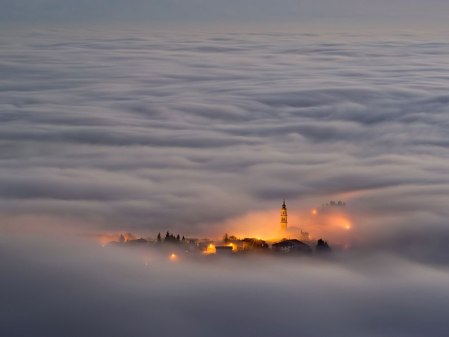 asiago-plateau-itally-by-vittoria-poli italy cloud sky town villag mountain disappearing fog nature natural geographic award