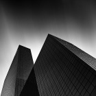 black and white  architecture photography 2