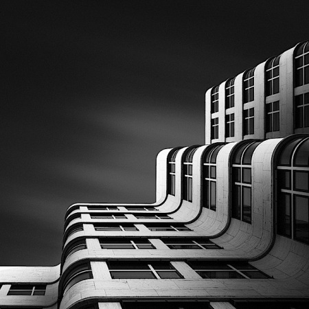 black and white  architecture photography rotterdam skyline building monochromatic dutch netherlands architectural images facades shapes geometry simplicity