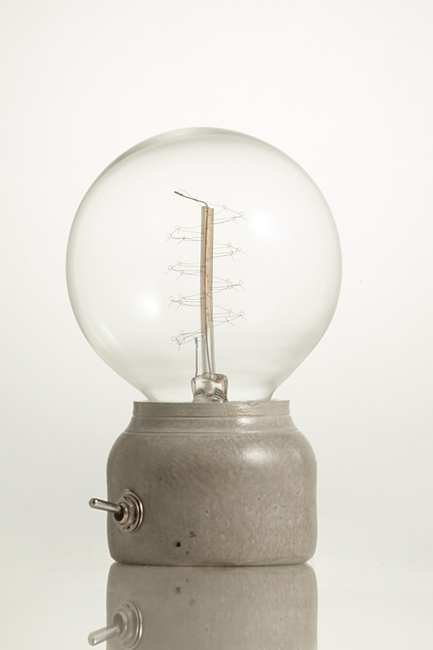 concrete lamp 3