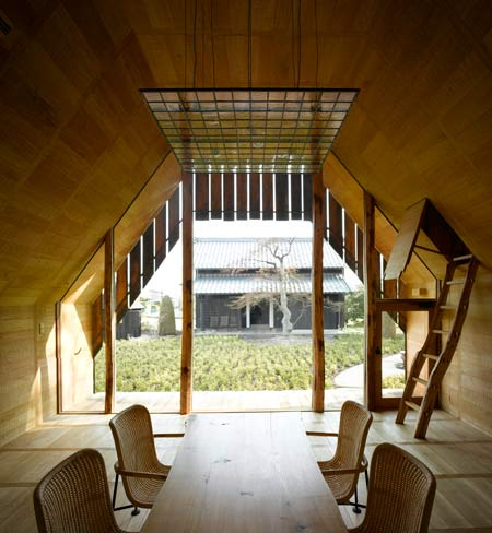 house residential japan design japanese timber architecture wood cedar cladding