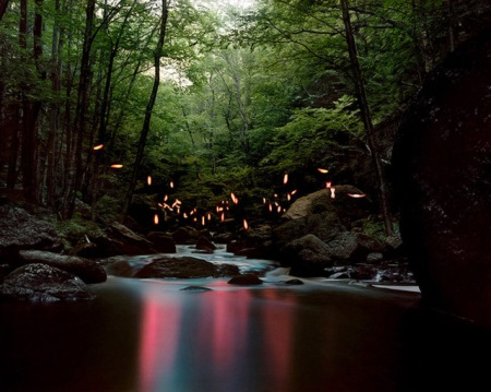 landscape light led sculptures art barry underwood nature photography exposure lighting camera artist