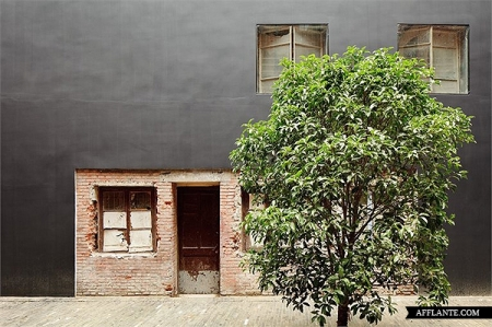 The Design Republic Commune Neri and Hu architecture Shanghai rennovation interior materials brick stucco traditional photography