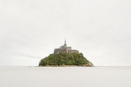 Akos-Major landscape photography water still nature fine art france cathedral