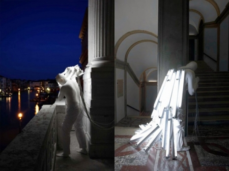Surreal light sculptures by Spanish artist Bernardí Roig