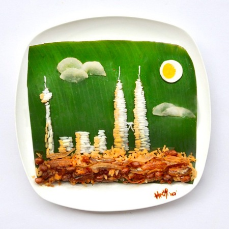 Food photography art design shapes fun figures patterns pictures food modelling color texture cooking recipe kitchen