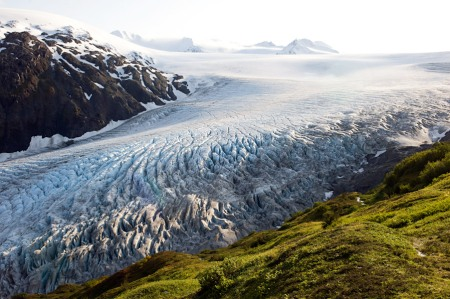 harding Exit Glacier, Seward, Alaska harding icefield landscape nature photography countryside ice mountains