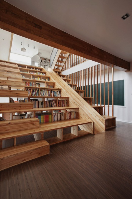 library slide timber books reading architecture house home residential chinese asia panorama house