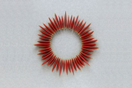 fruit food art photography geometry geometric composition sculptures 3D photography artist installation