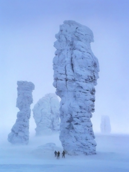 ural landscape rock mountain nature snow ice russia travel photography photo
