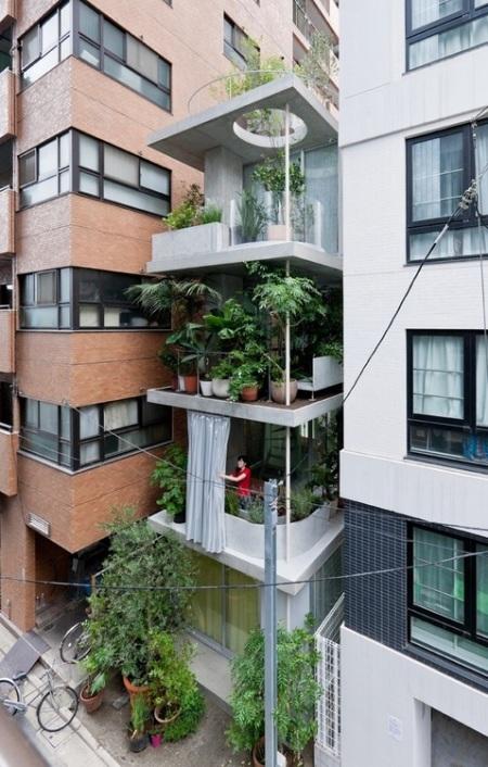 Garden & House by Ryue Nishizawa