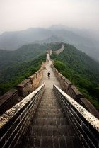 Great-Wall-at-Dawn,-China.
