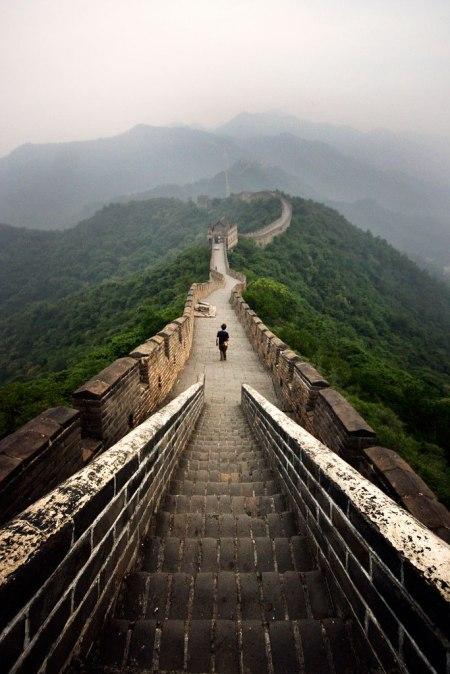 'The Great Wall at Dawn' - the Great Wall of China