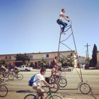 Stoopid Tall, the Tallest Bike In the World