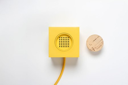 The Plugg Radio by Skrekkøgle is a simple radio that can be turned off by putting a cork in it. The future of electronics is clearly developing to a concept called 'through the glass', which employs iPhone-like touch interaction, making buttons become obsolete.