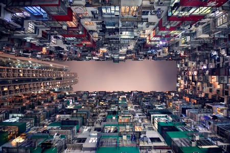 Urban Hong Kong gets a new perspective through the lens of this French photographer
