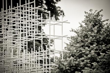 Serpentine Pavilion by Japanese architect Sou Fujimoto 2013 London