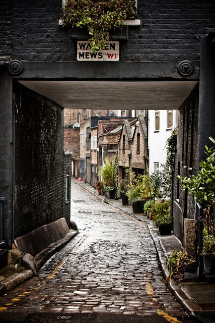 london mews warren street architecture uk cobble road houses buildings cute travel love