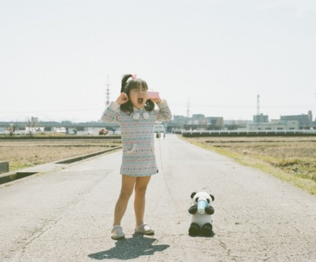 Series of interesting portraits named 'Photogenic Princess', where the artists' daughter, Kanna, is featured, by Japanese photographer Nagano Toyokazu