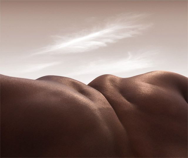 Landscapes Formed From Human Bodies by Carl Warner (2)
