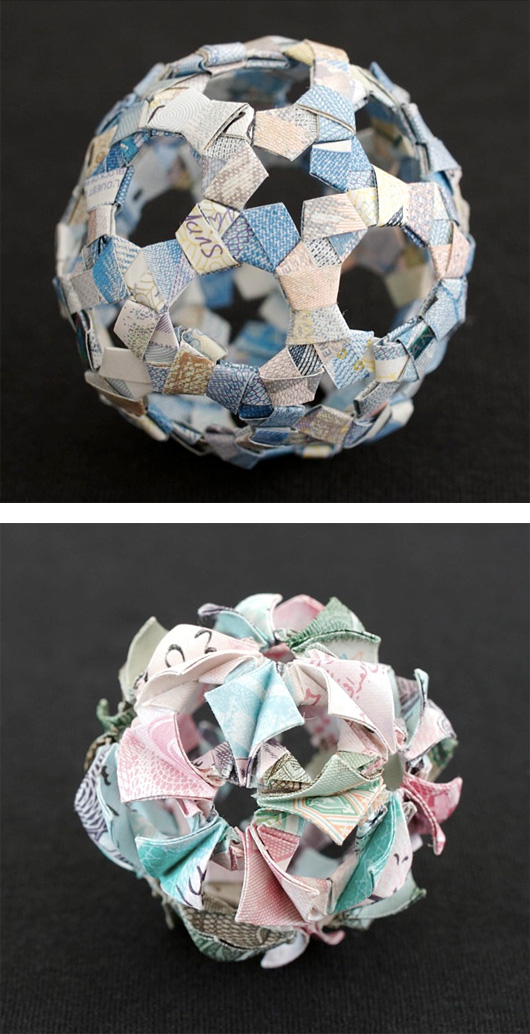 Money Sculptures by Kristi Malakoff (2)