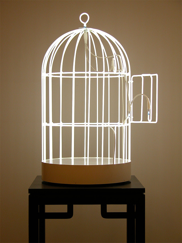 Neon Swing & Bird Cage by Su-Mei Tse (2)