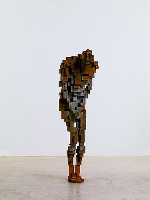 Antony Gormley is widely acclaimed for his sculptures, installations and public artworks that investigate the relationship of the human body to space. His work has developed the potential opened up by sculpture since the 1960s through a critical engagement with both his own body and those of others in a way that confronts fundamental questions of where human being stands in relation to nature and the cosmos. Gormley continually tries to identify the space of art as a place of becoming in which new behaviours, thoughts and feelings can arise.  Gormley's work has been widely exhibited throughout the UK and internationally with exhibitions at Centro Cultural Banco do Brasil, São Paulo, Rio di Janeiro and Brasilia (2012); Deichtorhallen, Hamburg (2012); The State Hermitage Museum, St Petersburg (2011); Kunsthaus Bregenz, Austria (2010); Hayward Gallery, London (2007); Malmö Konsthall, Sweden (1993) and Louisiana Museum of Modern Art, Humlebæk, Denmark (1989). He has also participated in major group shows such as the Venice Biennale (1982 and 1986) and Documenta 8, Kassel, Germany (1987). Permanent public works include the Angel of the North (Gateshead, England), Another Place (Crosby Beach, England), Inside Australia (Lake Ballard, Western Australia) and Exposure (Lelystad, The Netherlands).  Gormley was awarded the Turner Prize in 1994, the South Bank Prize for Visual Art in 1999 and the Bernhard Heiliger Award for Sculpture in 2007. In 1997 he was made an Officer of the British Empire (OBE). He is an Honorary Fellow of the Royal Institute of British Architects, an Honorary Doctor of the University of Cambridge and a Fellow of Trinity and Jesus Colleges, Cambridge. Gormley has been a Royal Academician since 2003 and a British Museum Trustee since 2007.