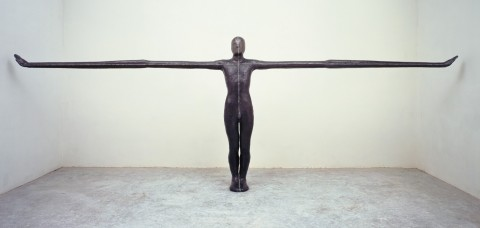 Human Steel Sculptures, by British sculptor Antony Gormley / _antony-gormley_sculpture_art (2)