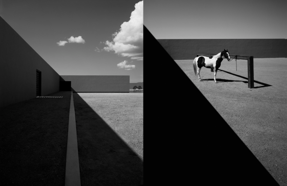 Famous fashion designer Tom Ford's new ranch in Santa Fe, New Mexico by renowned Japanese architect Tadao Ando / beautiful photographs by Guido Mocafico,