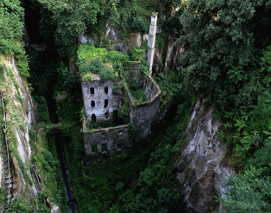 Abandoned mill - Sorrento, Italy