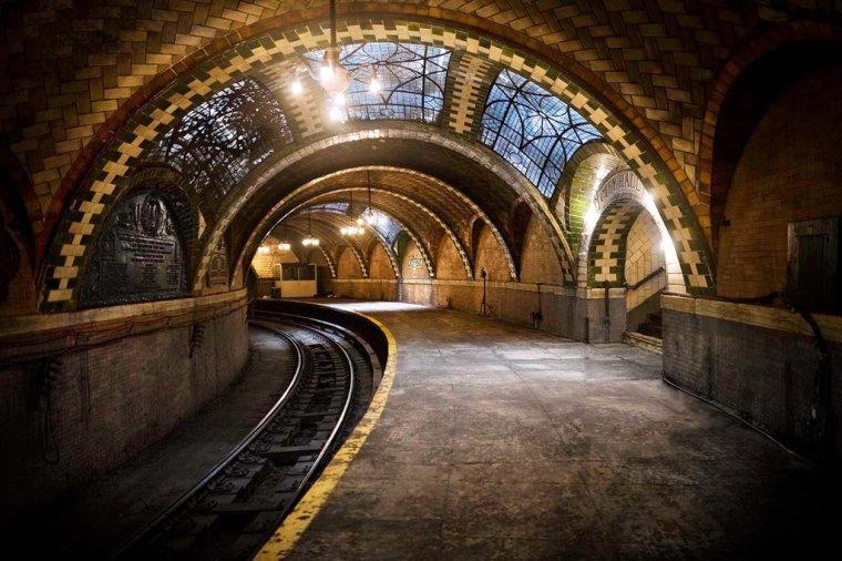 City Hall Subway Station- New York City