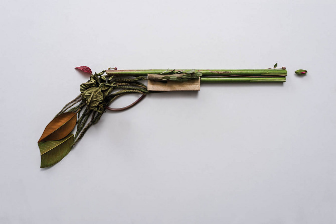 Harmless Weapons Made of Plants by Sonia Rentsch (4)