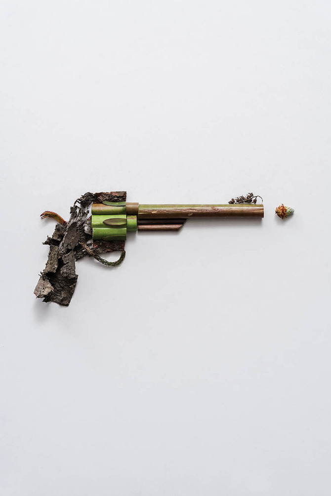 Harmless Weapons Made of Plants by Sonia Rentsch (6)