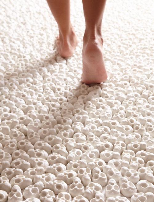 100,000 Miniature Porcelain Skulls (3)