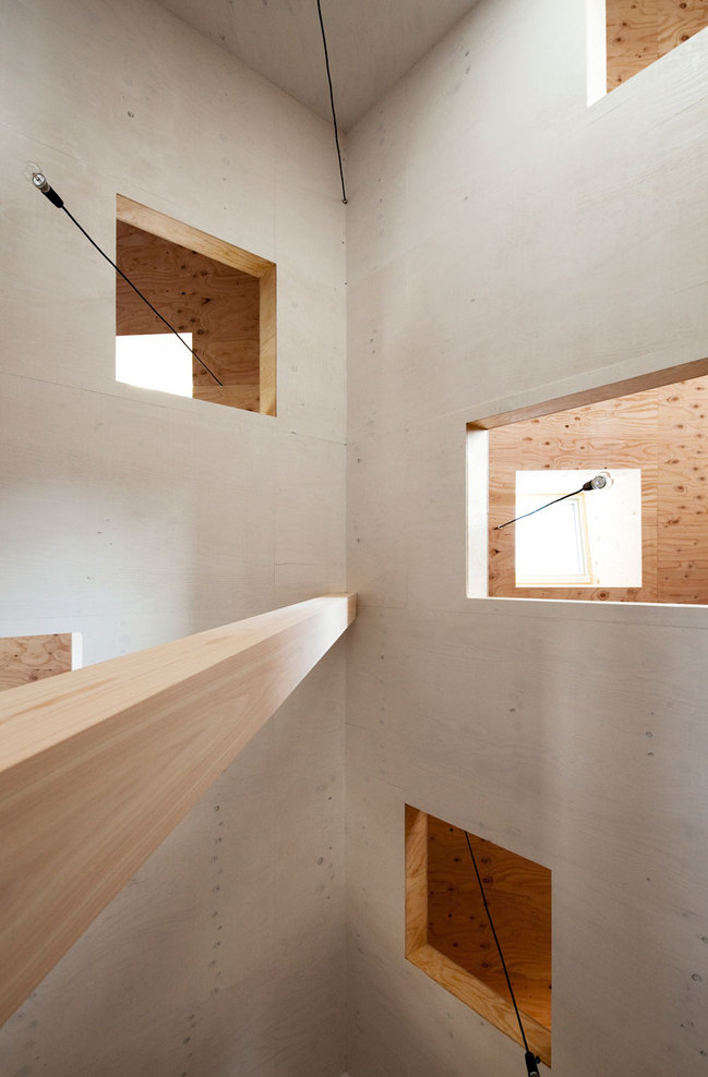 Ant House in Shizuoka, Shizuoka Prefecture, Japan by mA-style architects /  photographed by Kai Nakamura