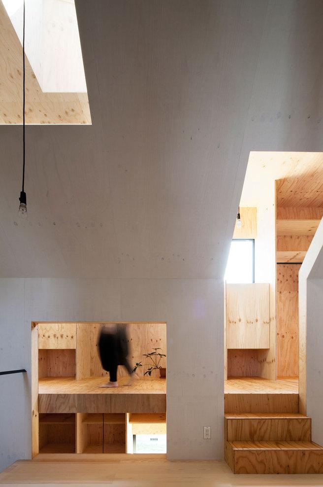 Ant House in Shizuoka, Shizuoka Prefecture, Japan by mA-style architects /  photographed by Kai Nakamura