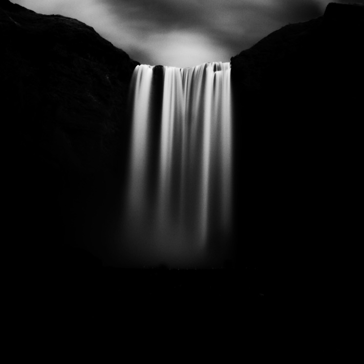 Stark Black and White Photographs of Waterfalls by Massimo Margagnoni (1)