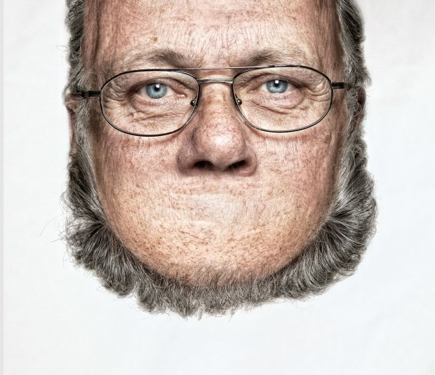 / photograph from the series 'Head on Top' by German photographer Thorsten Schmidtkord