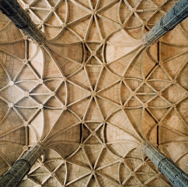 From the series 'Vaults' by photographer David Stephenson in which he beautifully captures cathedral and church ceilings across Europe.