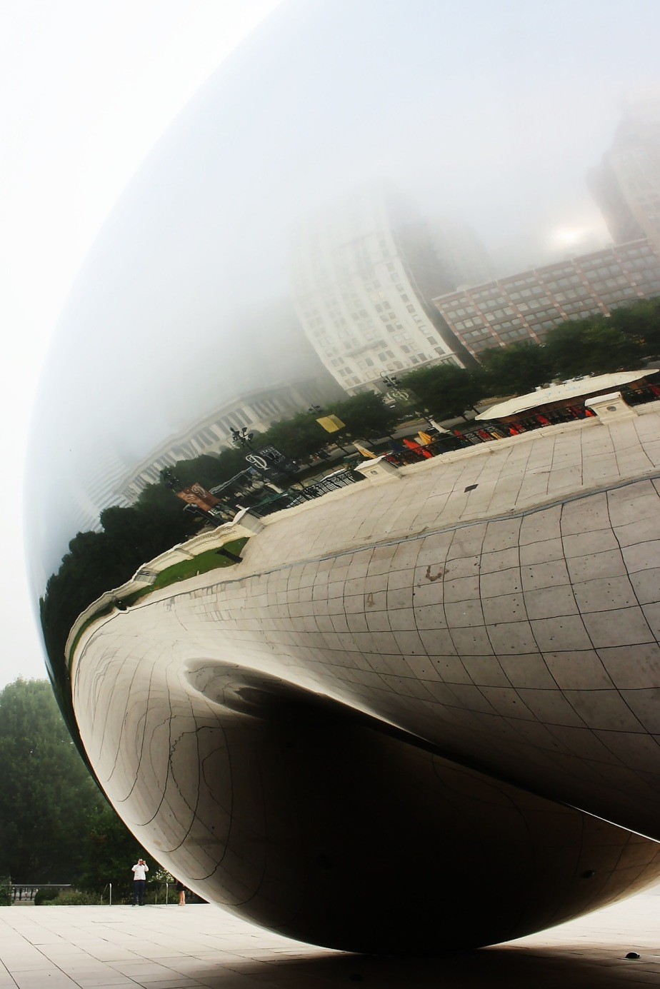 Foggy Morning at Cloud Gate rcruzniemiec (1)