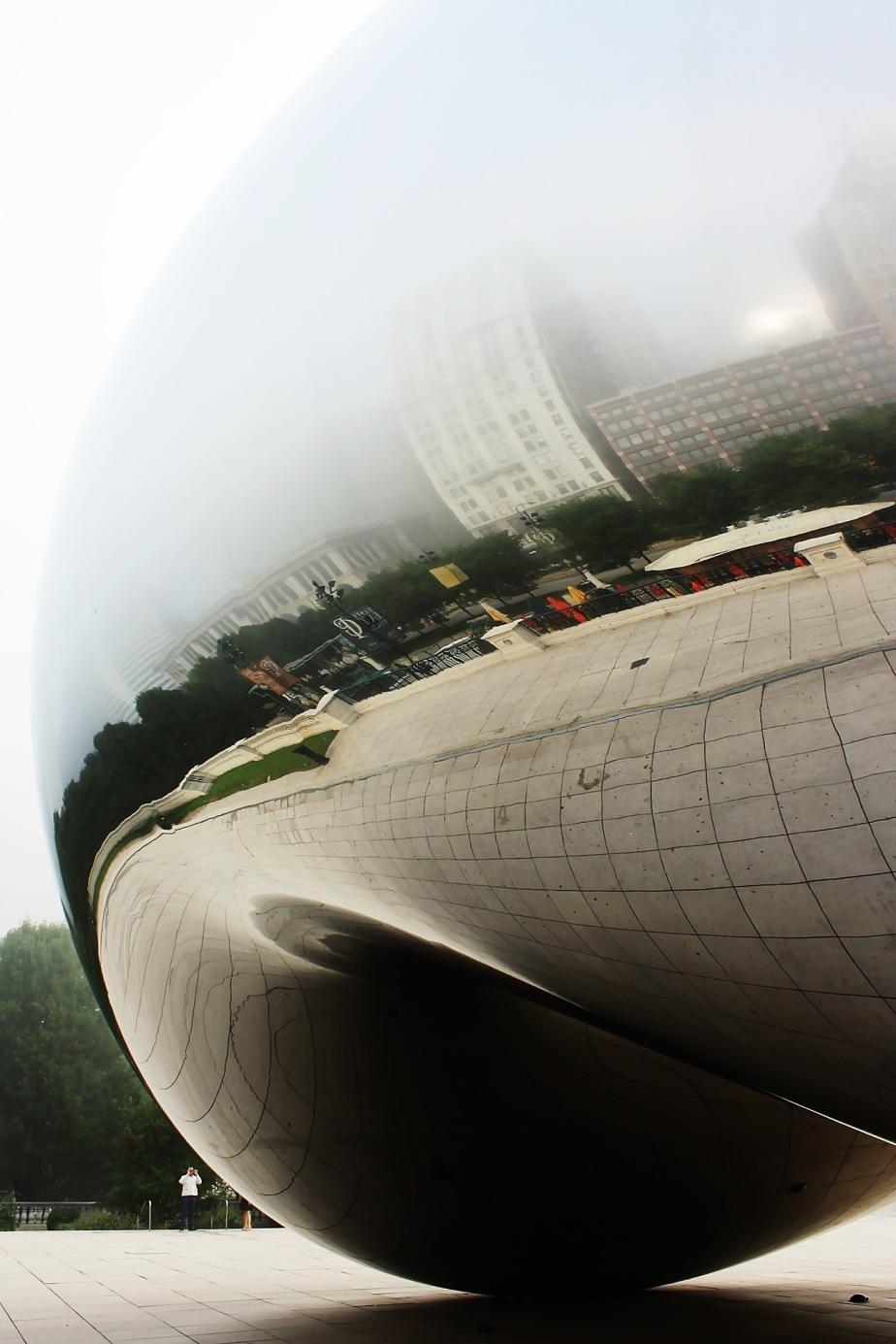 Foggy Morning at Cloud Gate rcruzniemiec (1)