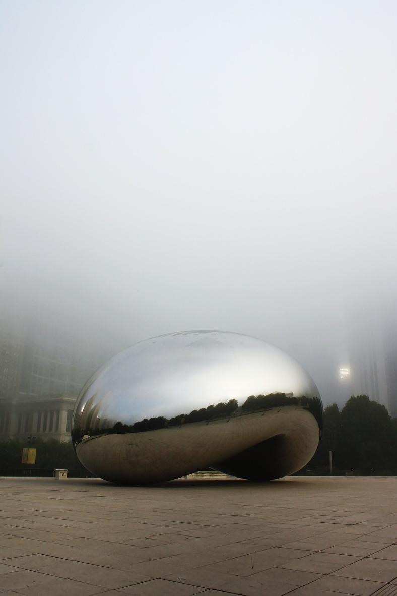 Foggy Morning at Cloud Gate rcruzniemiec (2)